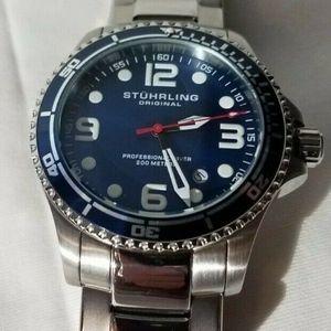 IOB Authentic Stuhrling Regatta Champion 395 Watch